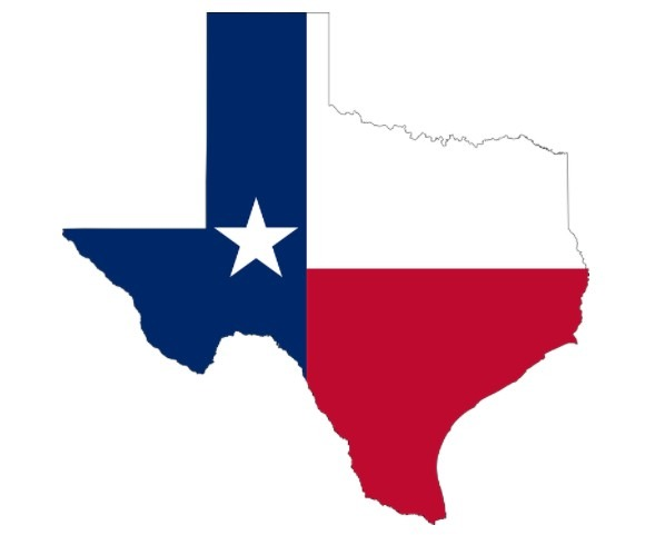 geography of Texas, Texas flag, map of Texas state